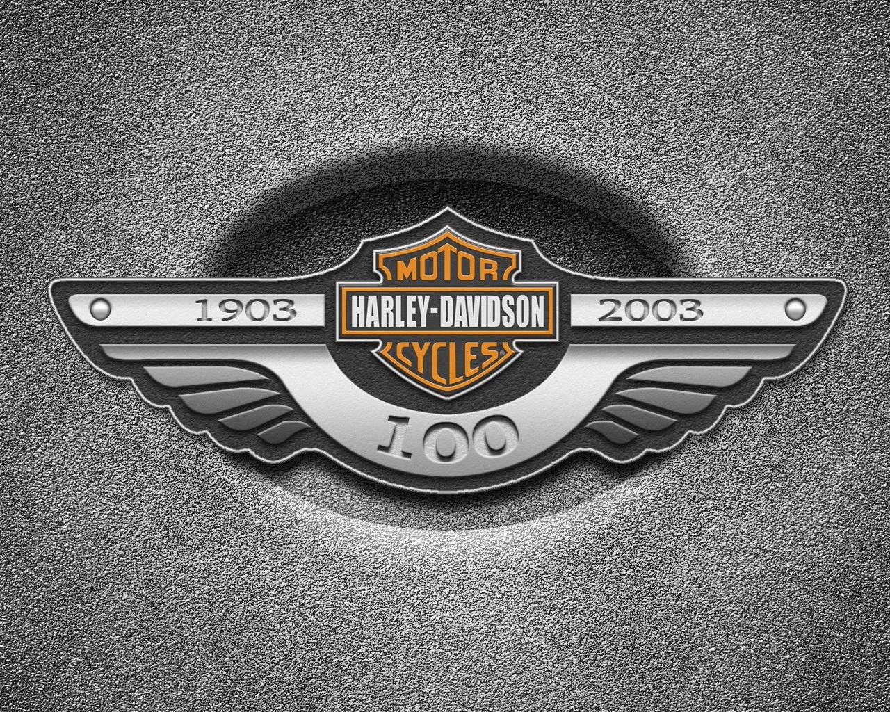 Motocycles Harley Davidson HARLEY DAVIDSON logo 017071 jpg 1280x1024