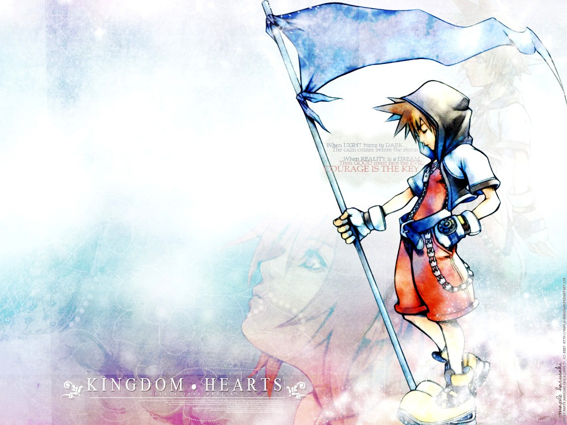 Kingdom Hearts PC Game HD Wallpaper 03 Imagez Only 1152x864