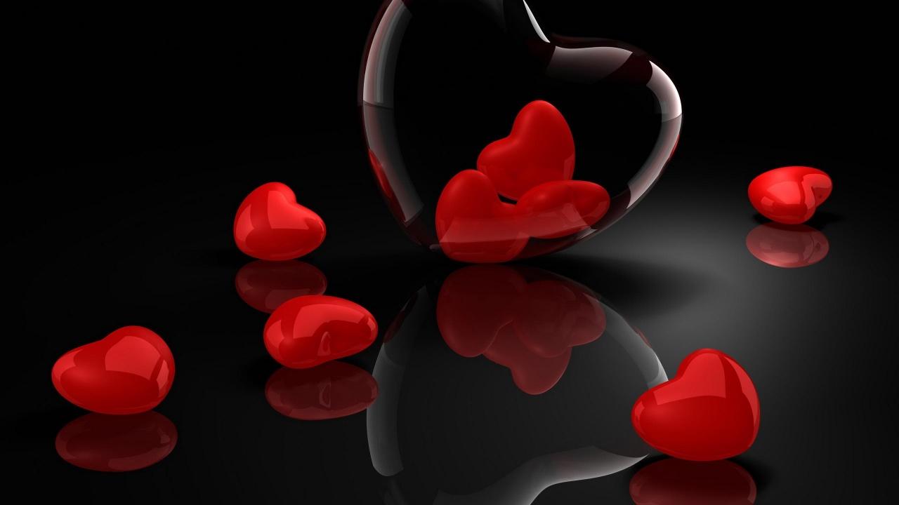 47 black and red heart wallpaper on wallpapersafari - Heart to heart wallpaper ...