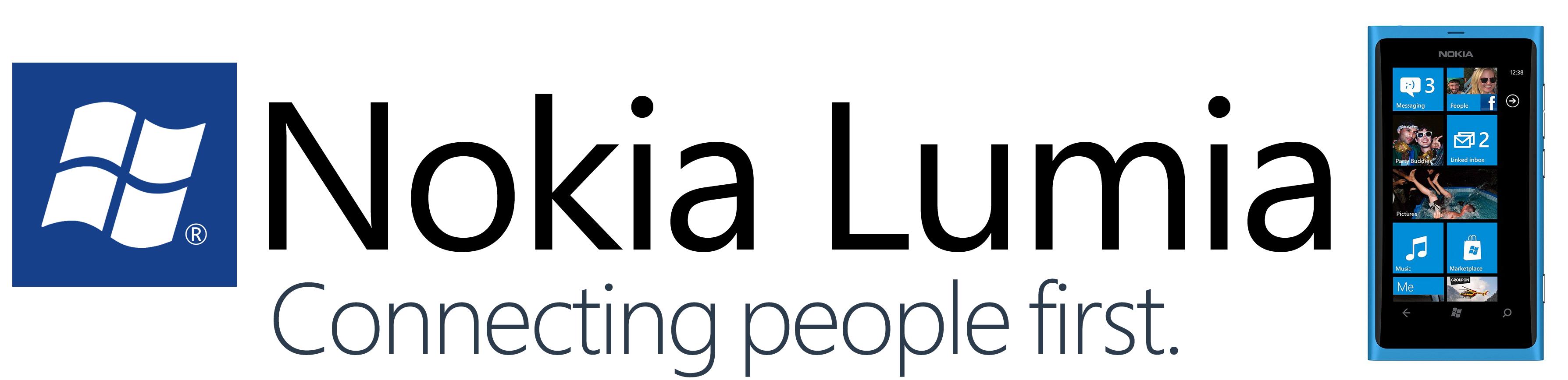 Nokia Lumia Logo Wallpaper Nokia lumia lo 3576x868