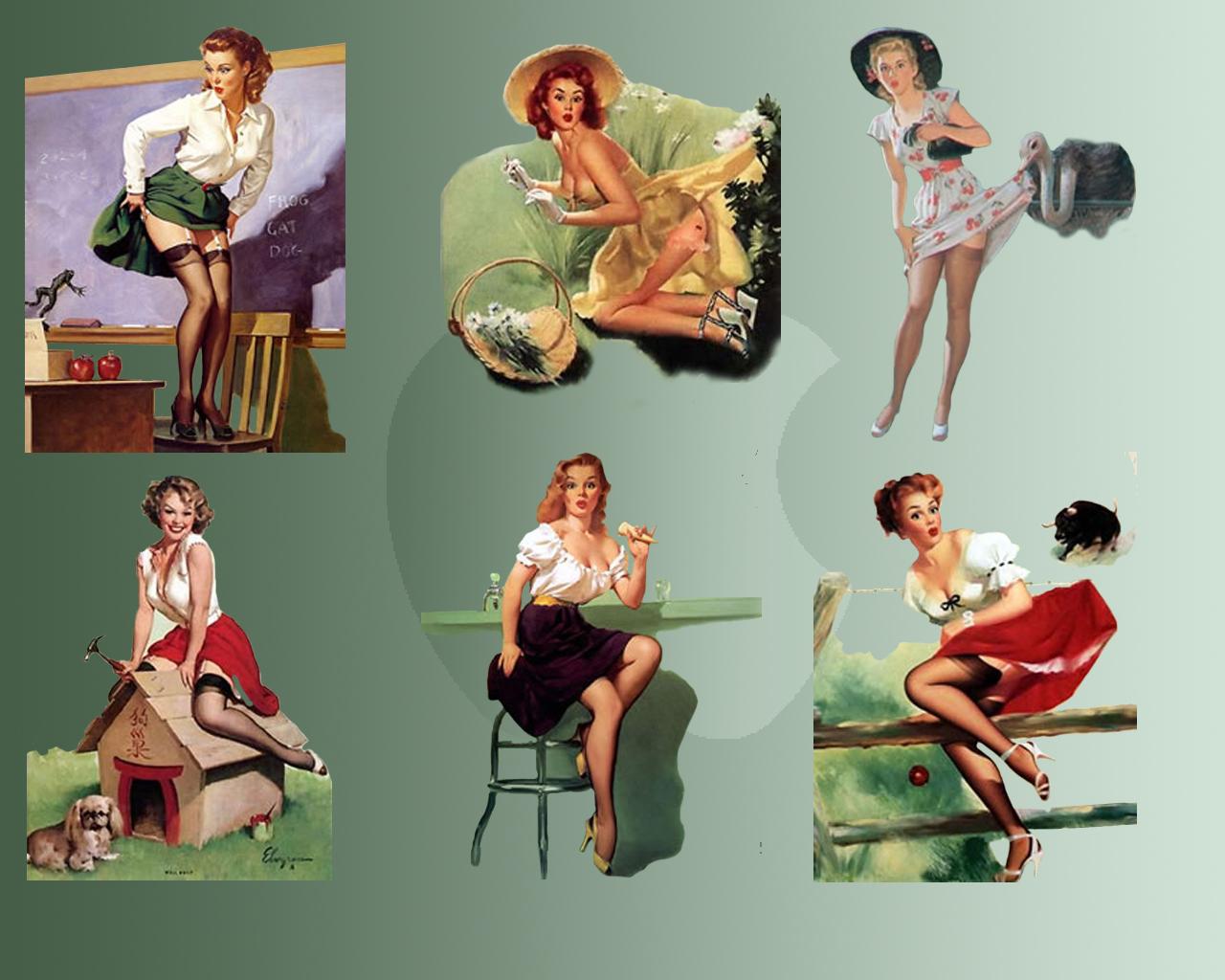 Pin up Girls Wallpapers   Wallpapers for dekstop 1280x1024