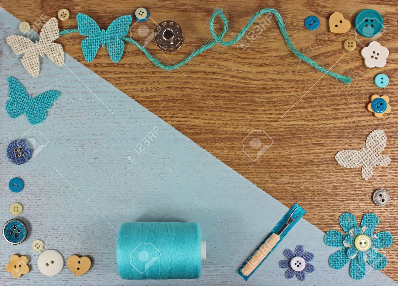 Free Download Turquoise Haberdashery Craft Background Stock Photo Picture And 1300x933 For Your Desktop Mobile Tablet Explore 31 Crafts Backgrounds Crafts Wallpaper Wallpaper Crafts Pinterest Wallpaper Crafts
