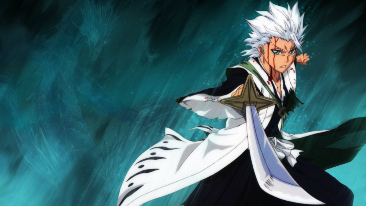 Bleach Hitsugaya Toshiro Zanpakuto HD Wallpaper Anime Manga 1280x720