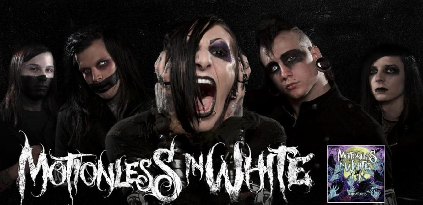 Motionless In White Wallpapers 1347x653