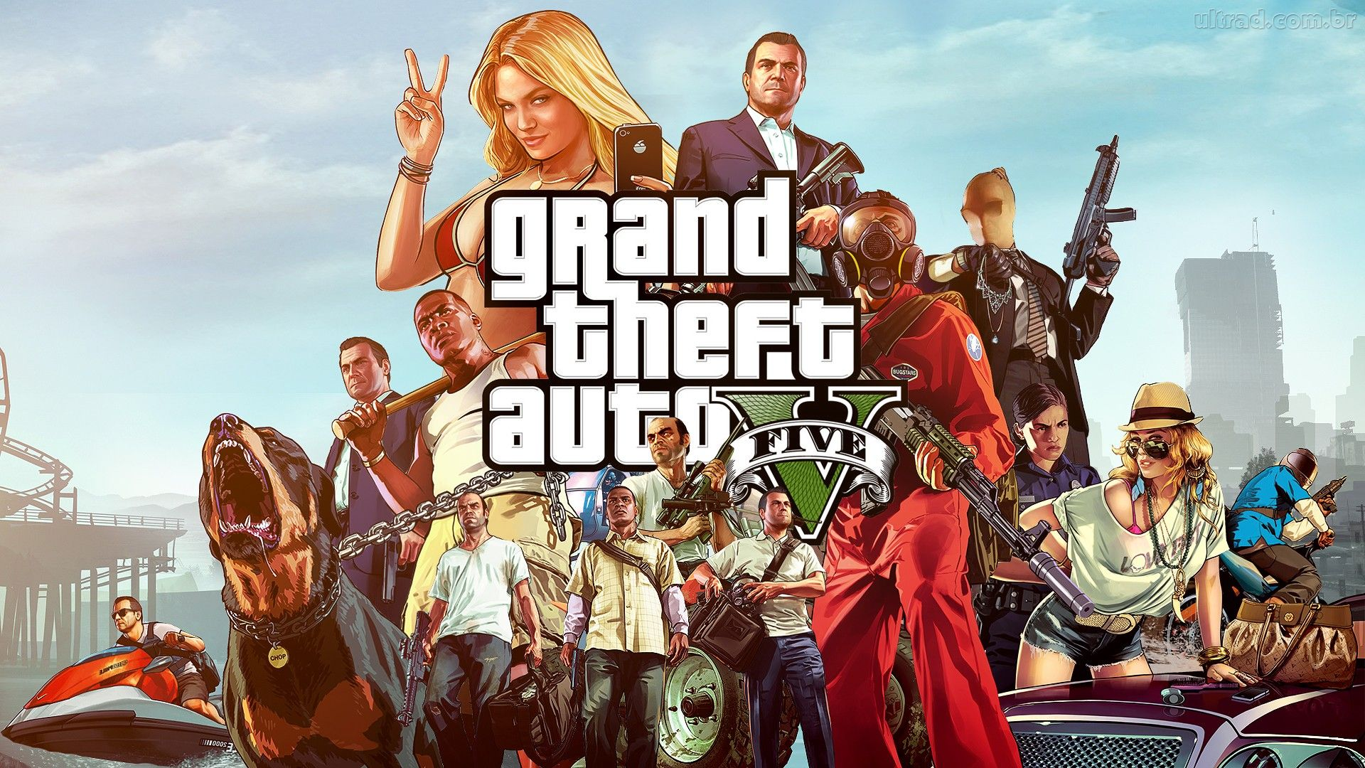 GTA V no Android Games Android Full   Download e Jogos 1920x1080
