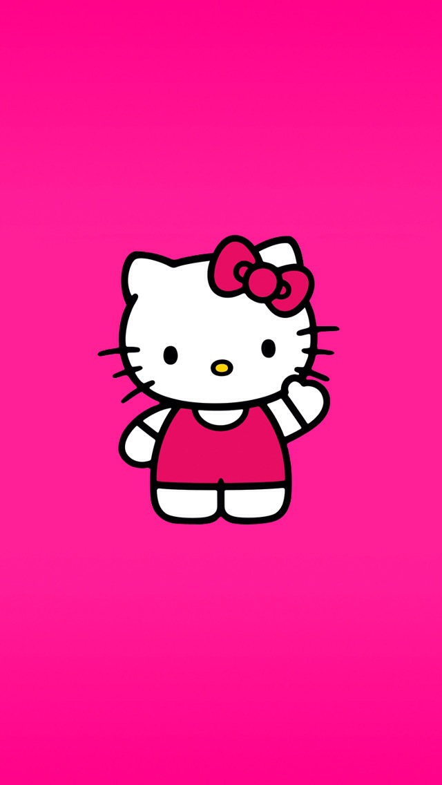 wallpaper iphone 5 pink kitty - photo #30