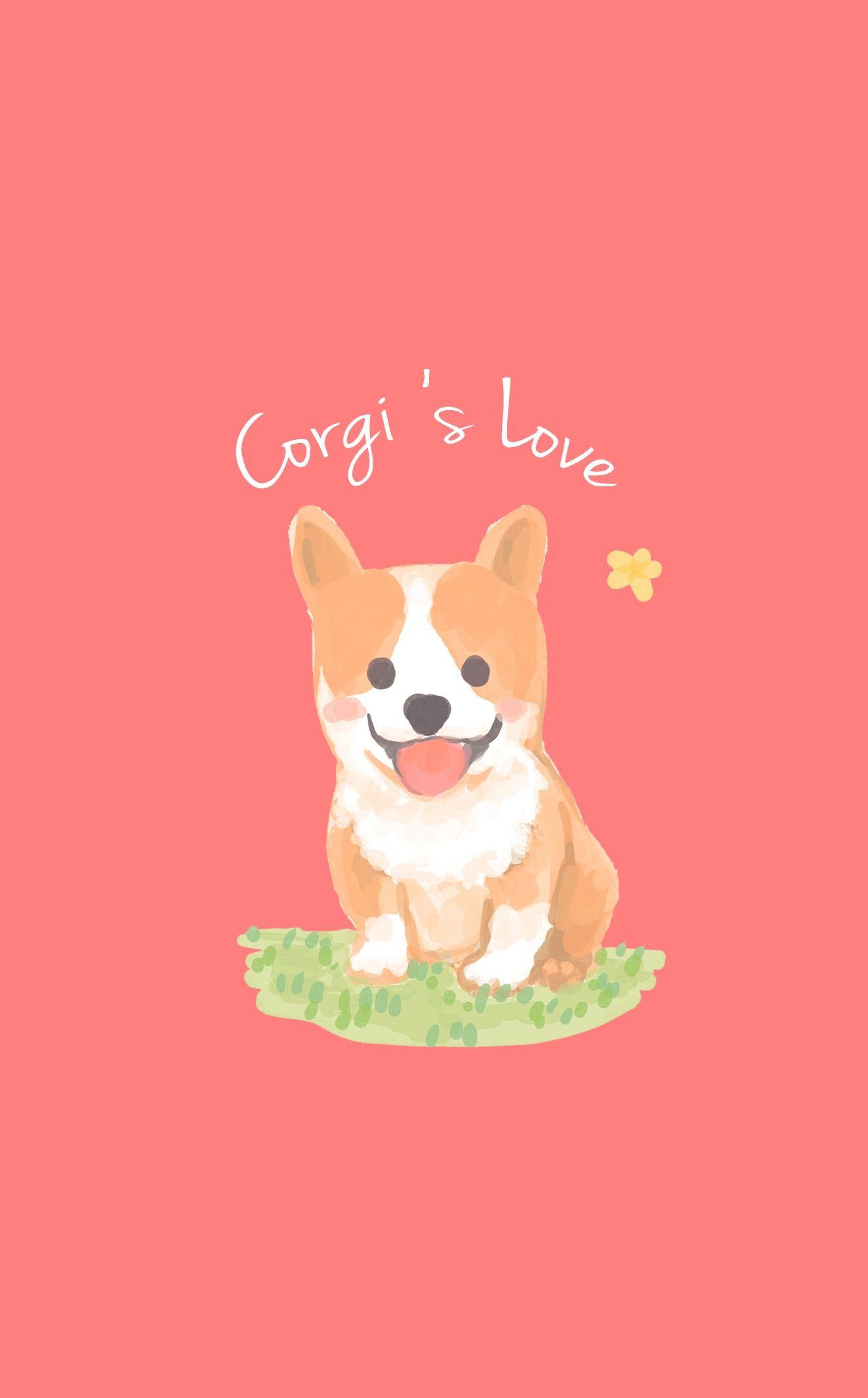 corgi background Corgi dog Corgi art Mini corgi 1323x2130