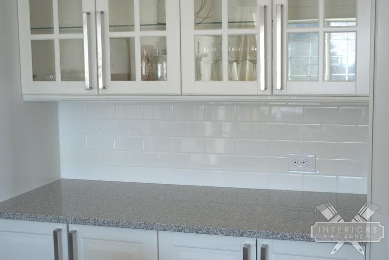 White Subway Tile Backsplash 800x535