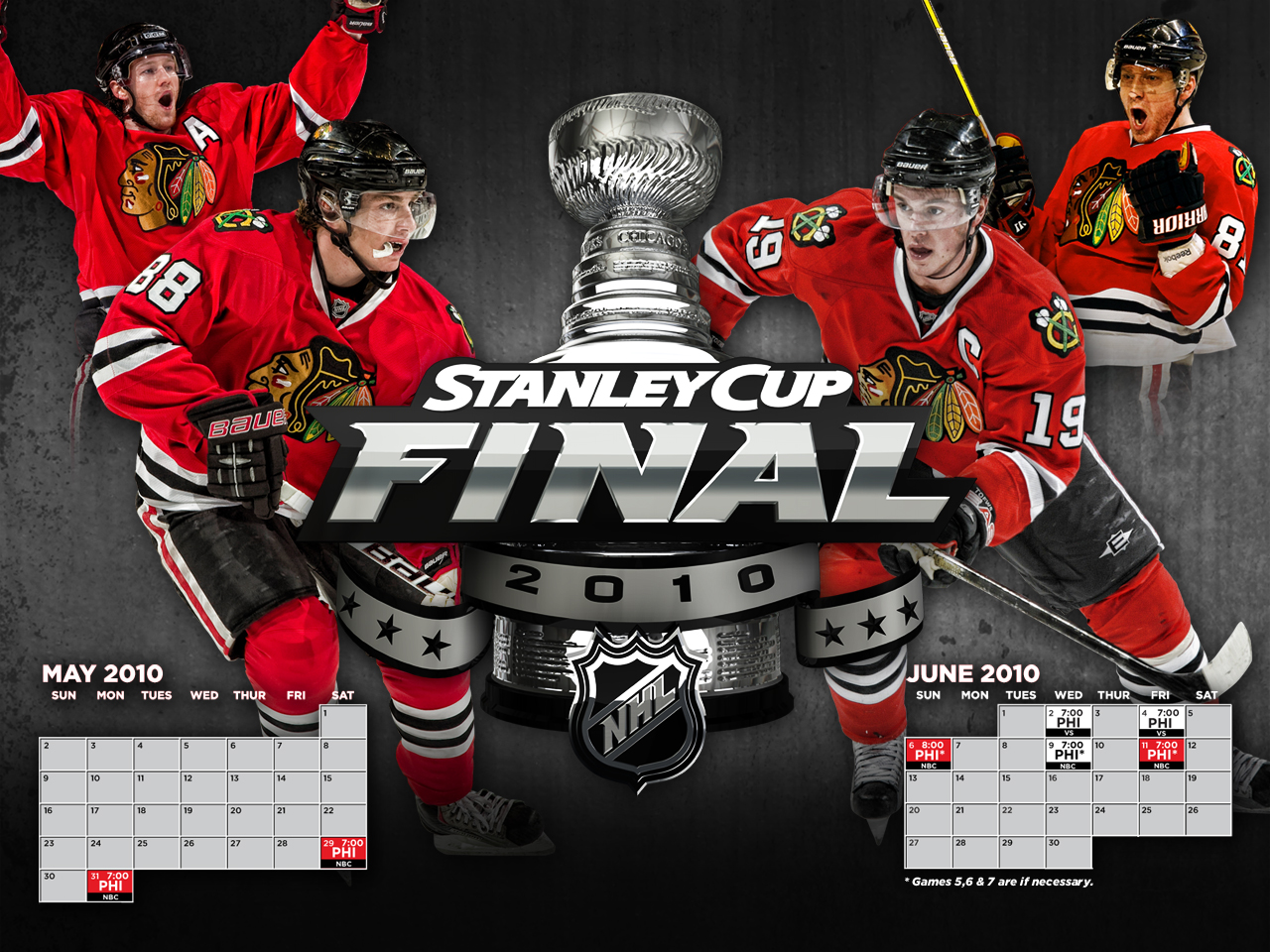 Stanley Cup Finals  Philadelphia Flyers vs Chicago Blackhawks   Page 1280x960