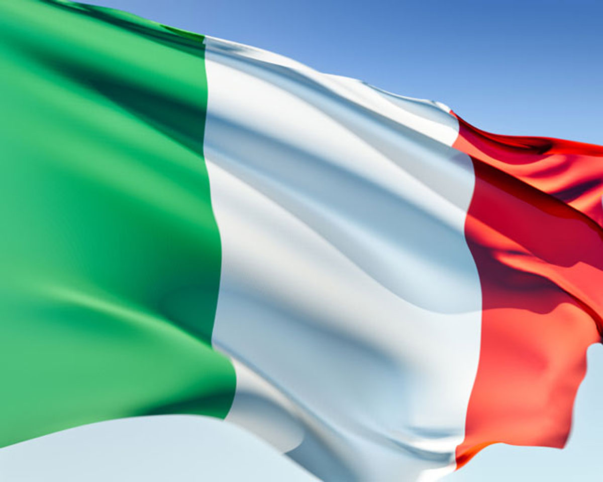 Wallpapers Flag of Italy goldoverblu 1200x958