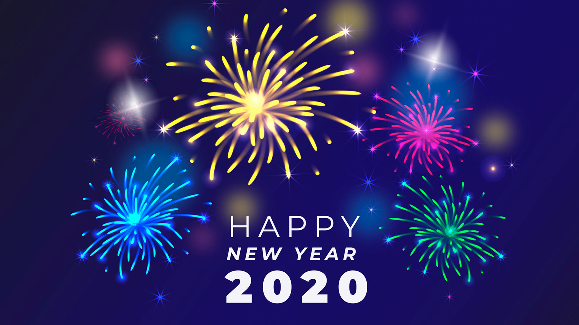30 Beautiful New Year 2020 HD Wallpapers to Beautify Your Desktop 1920x1080