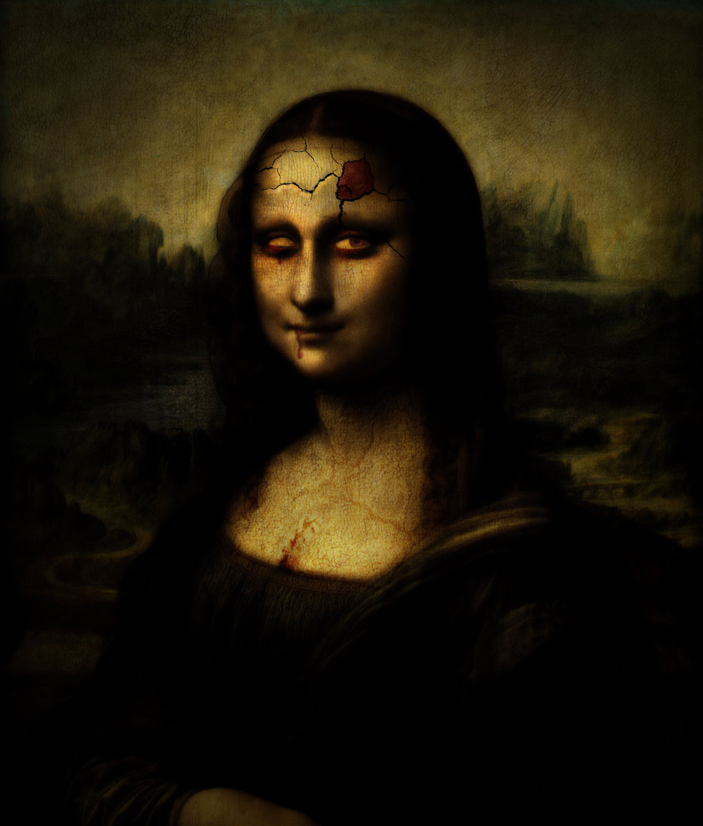 Mona Lisa HD Wallpaper 1024x1202