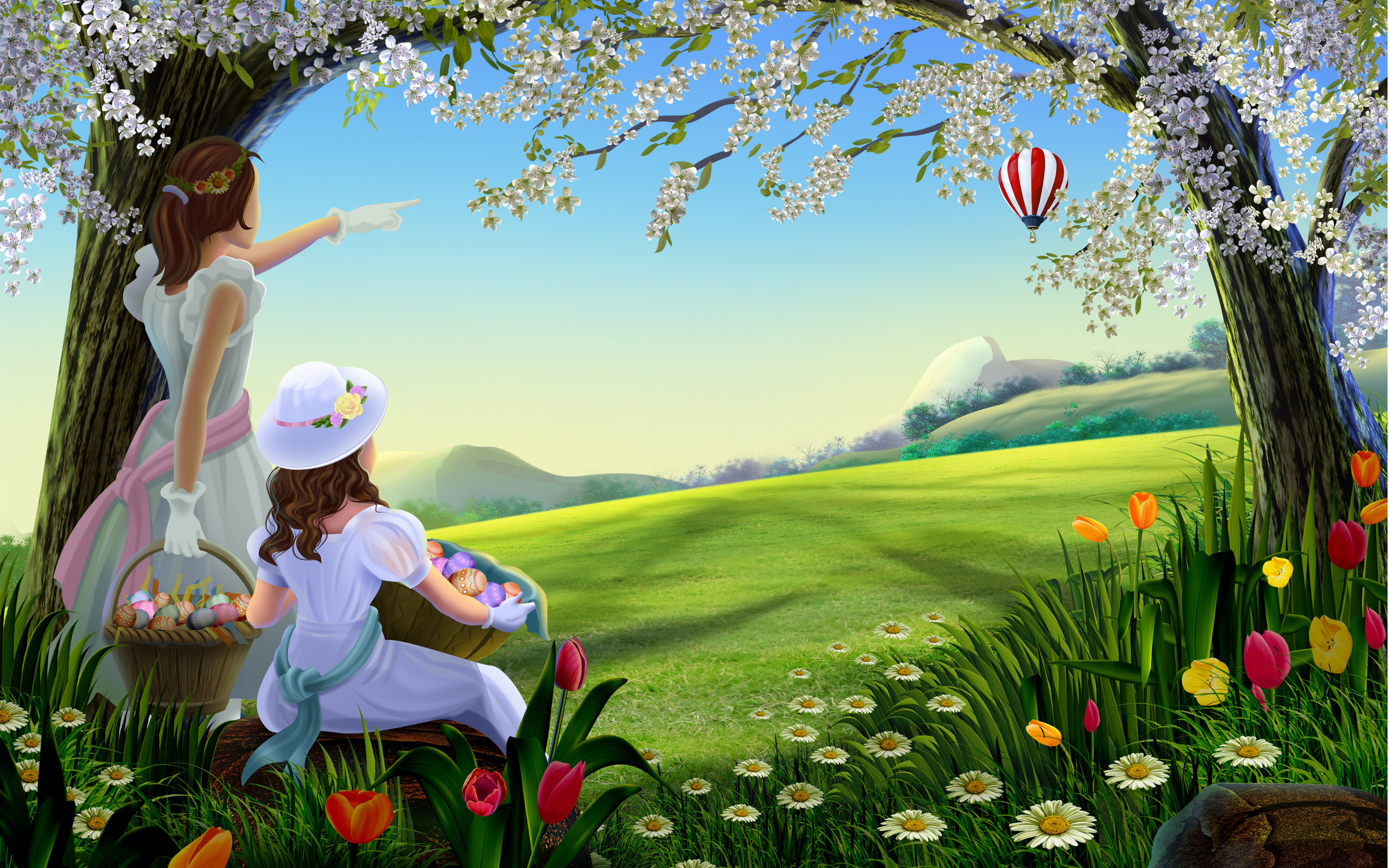 Easter Desktop Background   Wallpaper High Definition High Quality 2560x1600