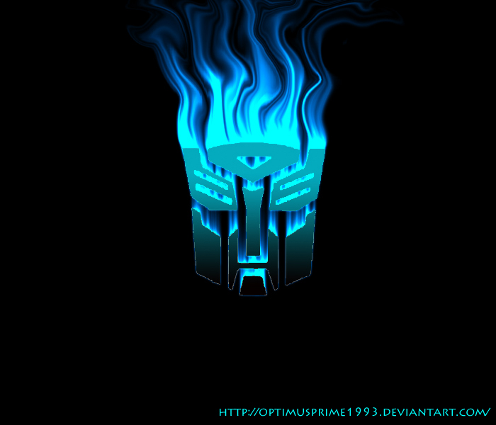 Flaming Autobot logo by Optimusprime1993 700x600