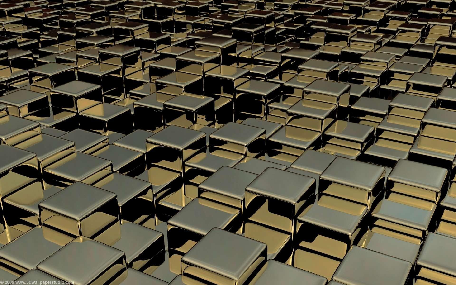 3D Cubes   Wallpaper 43195 1920x1200