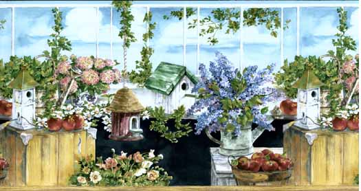 the Sunroom Wallpaper Border   Wallpaper Border Wallpaper inccom 525x278
