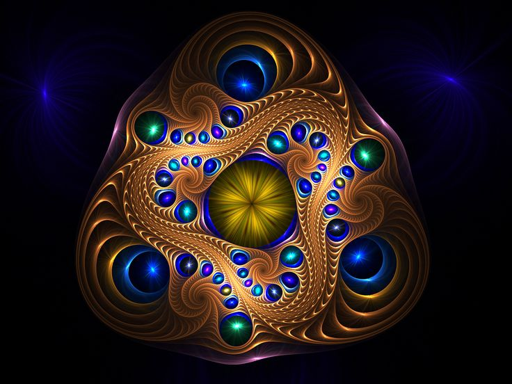 Abstract Wallpapers Sacred Geometry Fractals Pinterest 736x552