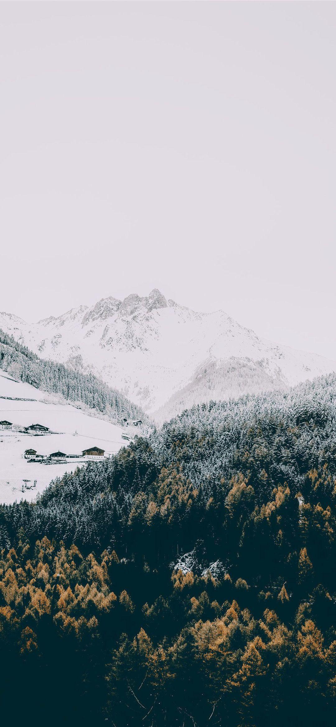 Phone Wallpaper Winter iPhone 11 wallpaper dolomite alp mountain 1080x2339