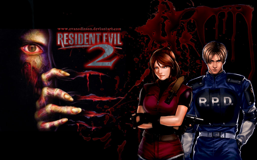 Free Download Resident Evil 2 Claire And Leon By Evanodinson