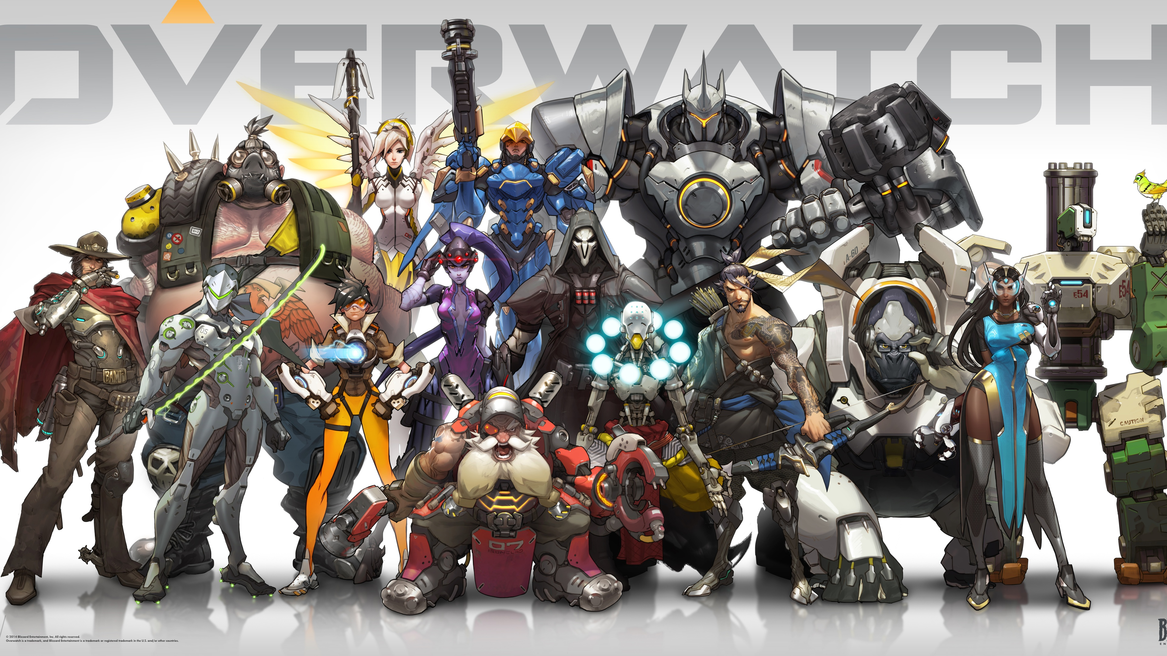 Overwatch 2016 Game Wallpapers HD Wallpapers 3840x2160