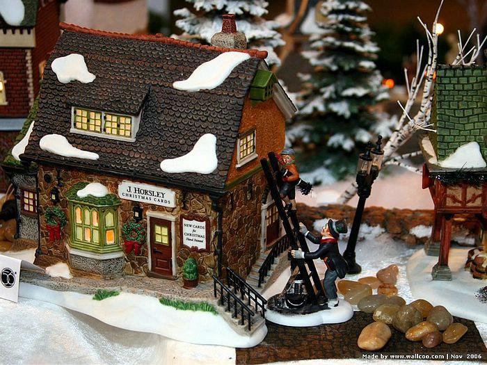 Gingerbread House Wallpaper - WallpaperSafari
