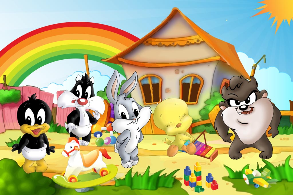 Baby Tunes wallpaper 1024x683 Looney Tunes 1024x683