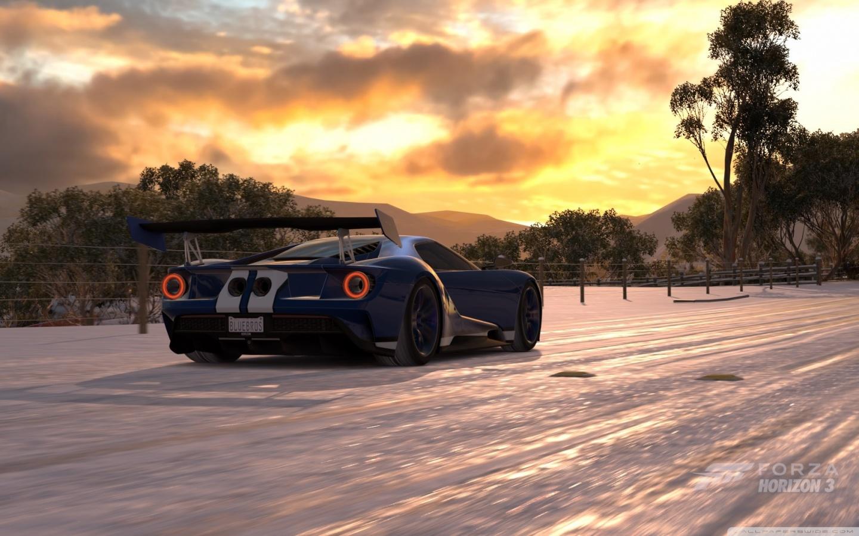 Forza Horizon 3 Ford GT 2017 4K HD Desktop Wallpaper for 4K 1440x900