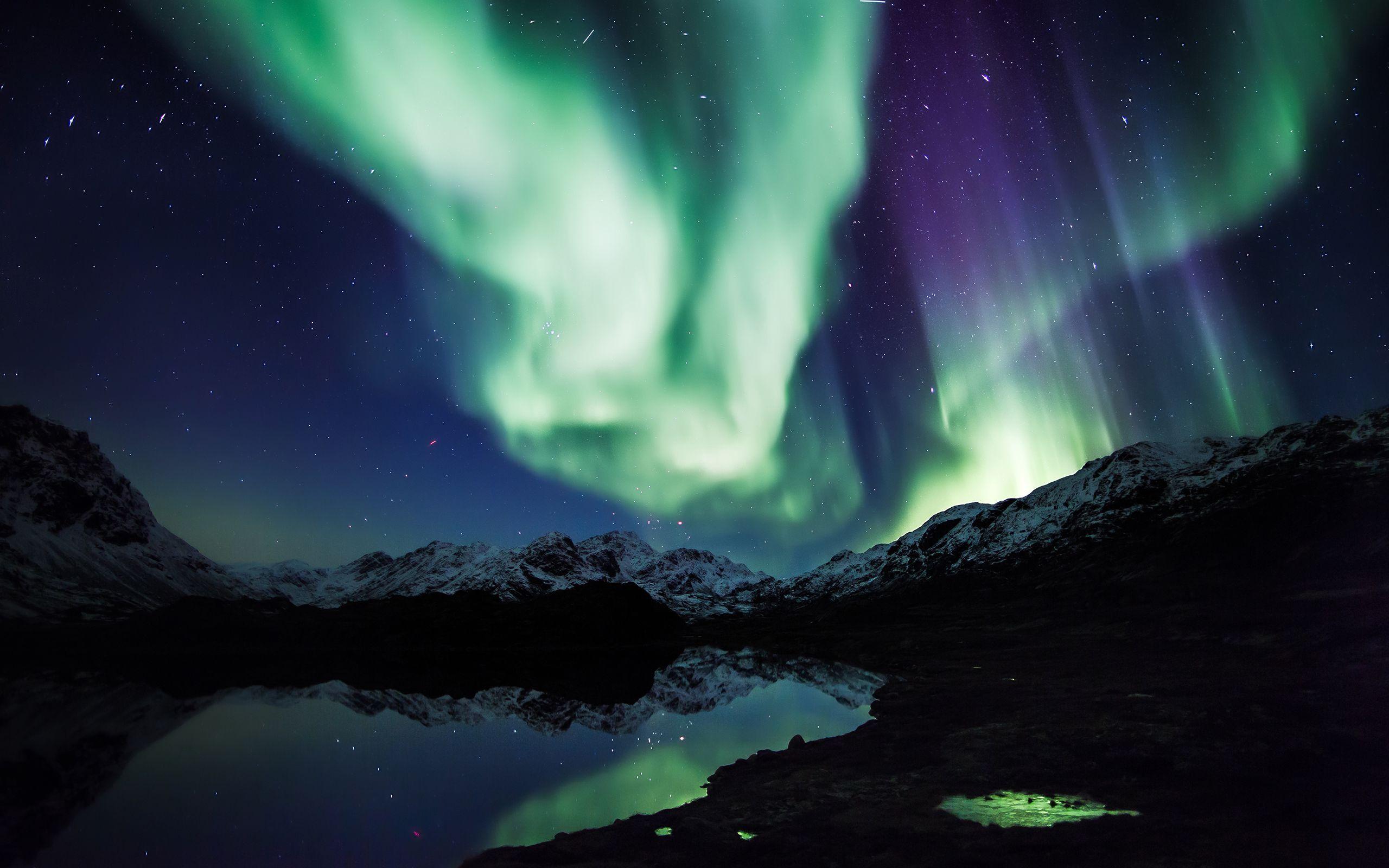 Aurora Borealis wallpaper - 1207999