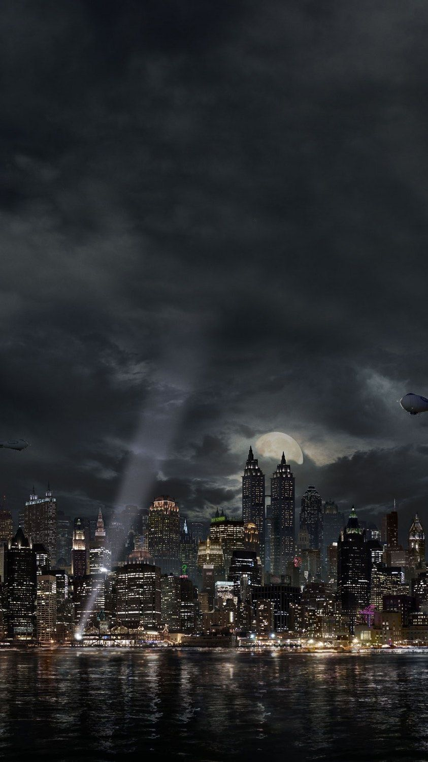 Gotham Phone Wallpaper Wallpapers Gotham Gotham city Gotham 843x1500