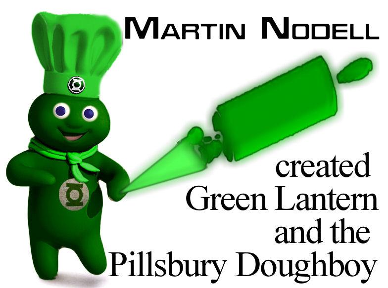 Green Lantern Pillsbury Doughboy Marton Nodell by Brandtk on 784x583