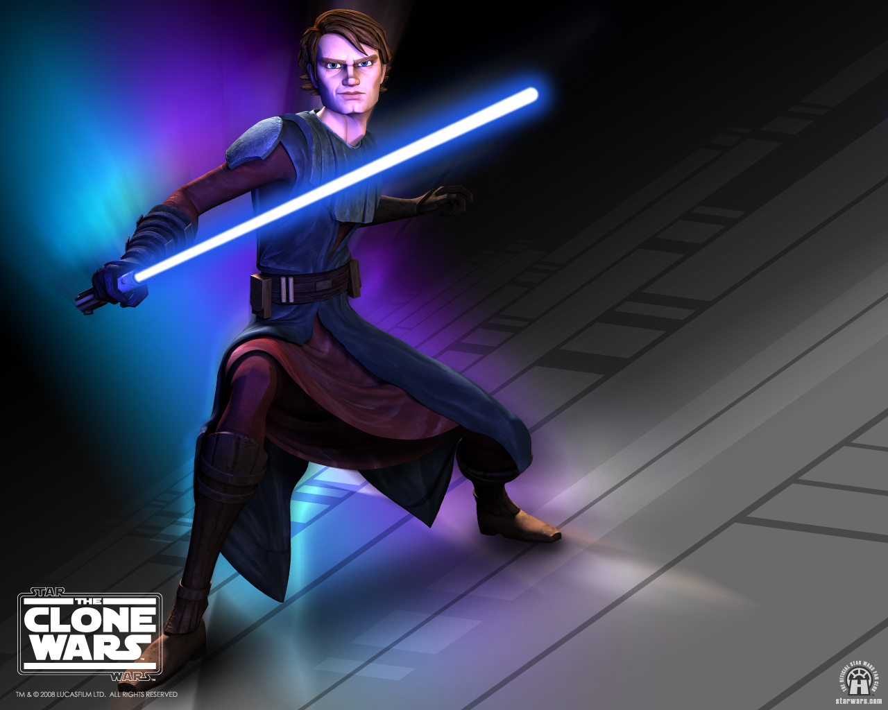 use this Star Wars The Clone Wars picture as your desktop wallpaper 1280x1024