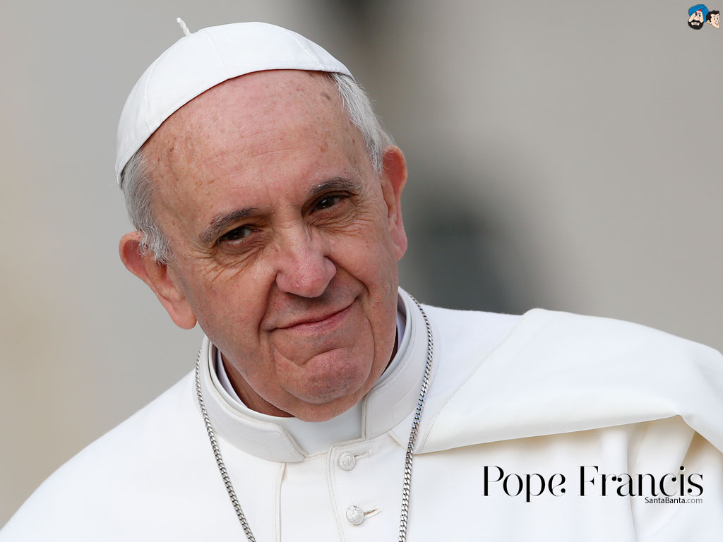 Pope Francis wallpapers Pictures Photos Screensavers 1024x768