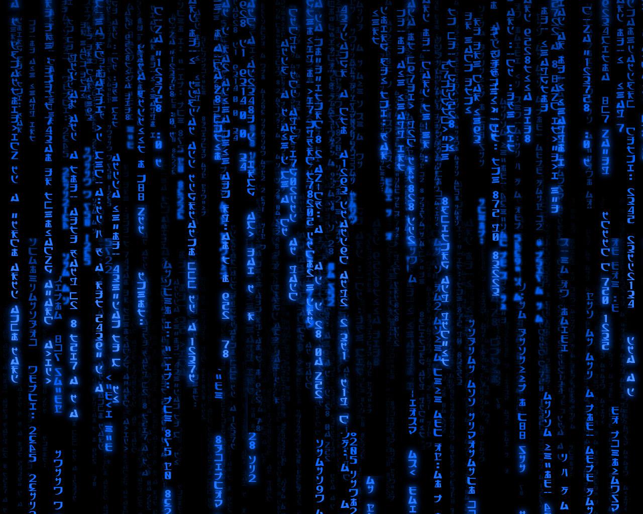 blue matrix by bboisupafly 1280x1024