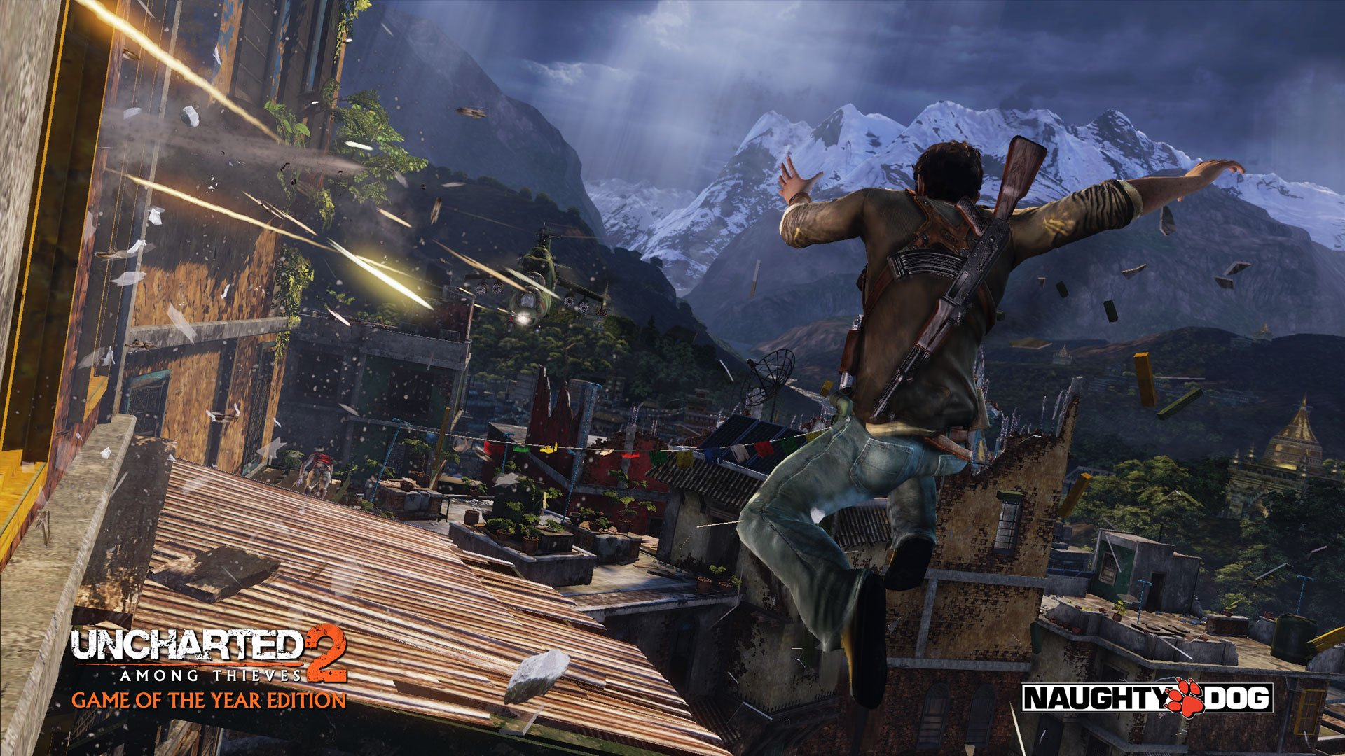 Video Game   Uncharted 2 Among Thieves Wallpaper 1920x1080