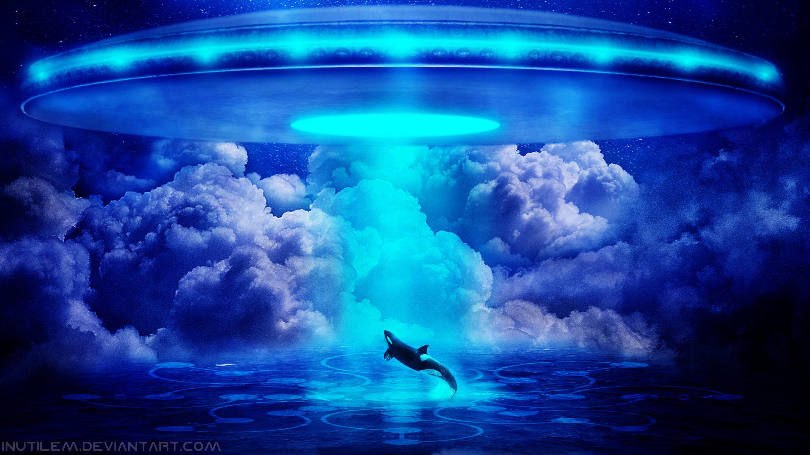 Oceanic Abduction HD Wallpaper Background Image 2732x1536 ID 2732x1536