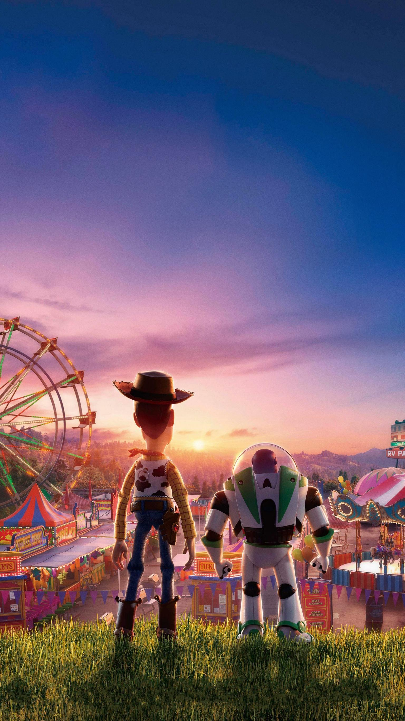 Toy Story 4 2019 Phone Wallpaper Moviemania 1536x2732