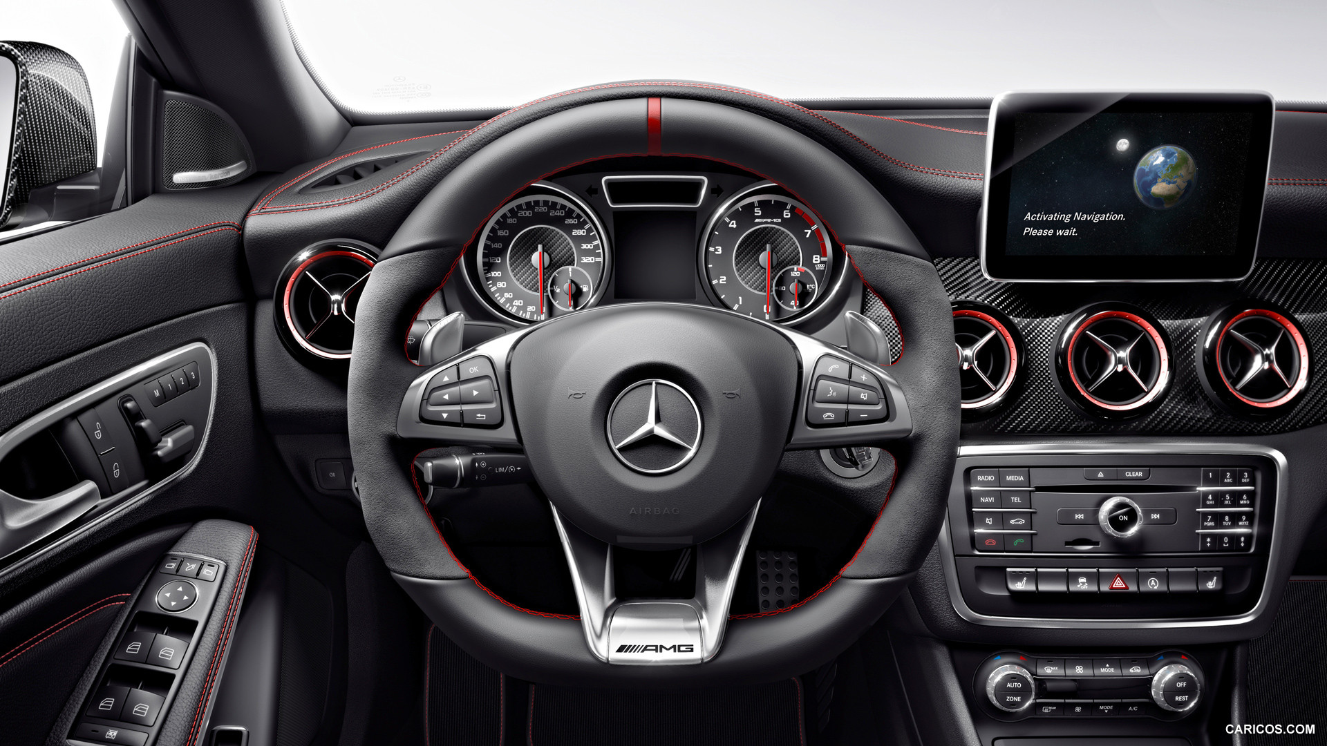 2015 Mercedes Benz CLA 45 AMG Shooting Brake   Interior HD 1920x1080