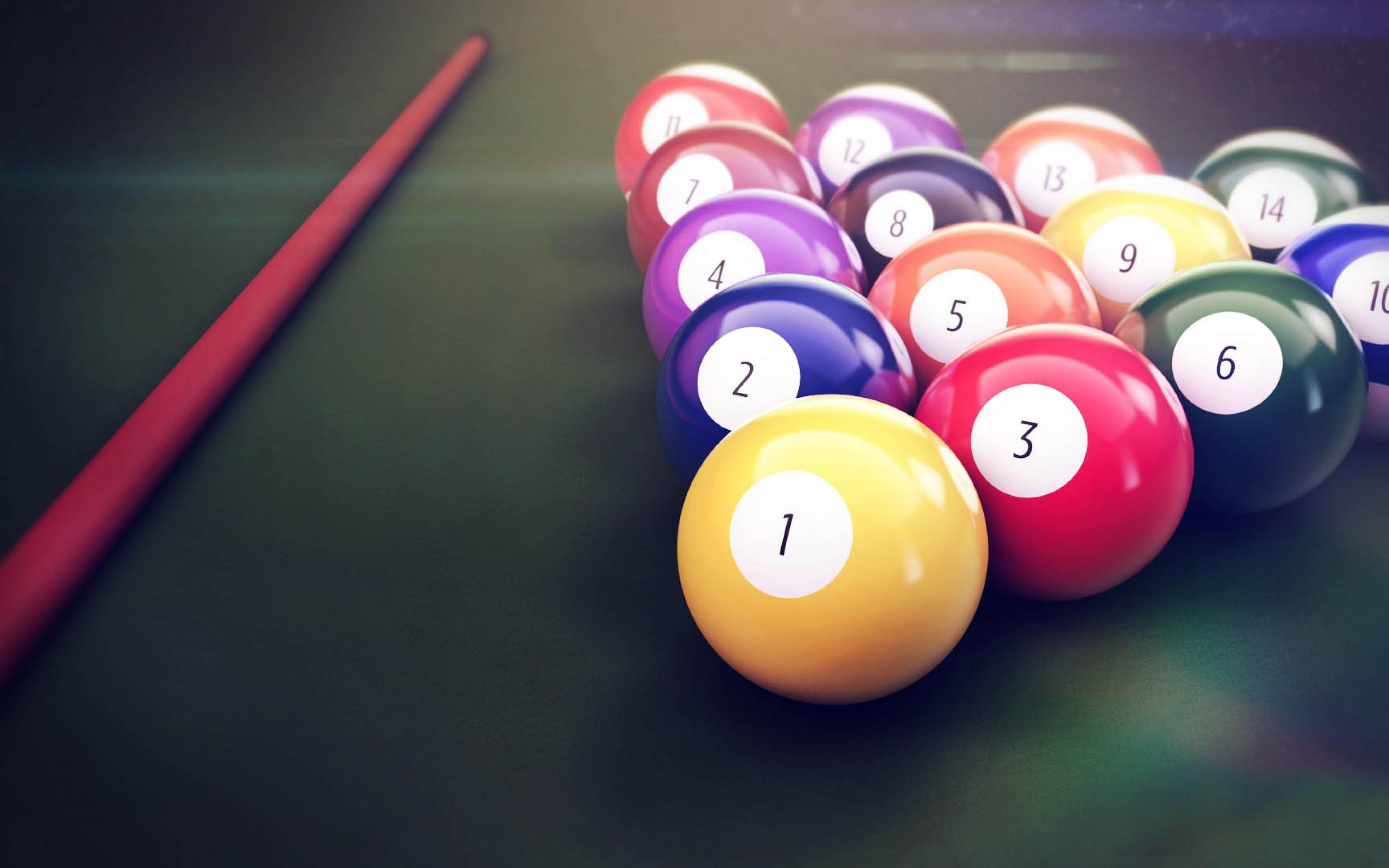 Billiard balls wallpapers and images   wallpapers pictures photos 2880x1800