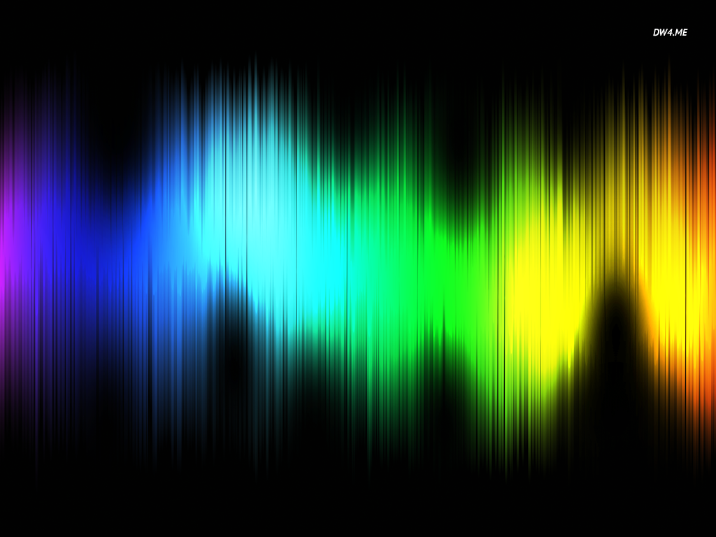 Colorful sound waves wallpaper   Digital Art wallpapers   3769 1024x768