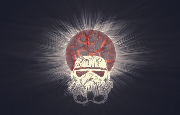 Star wars star wars bang planet science fiction stormtrooper 596x380