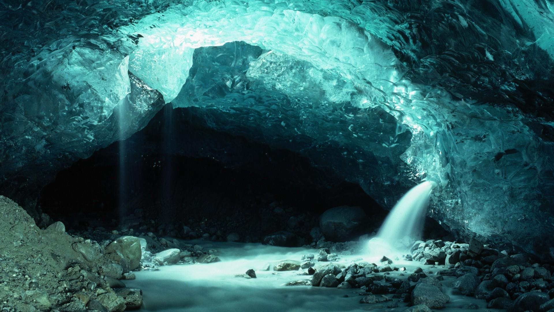 Sunrise Through The Cave 1920x1080