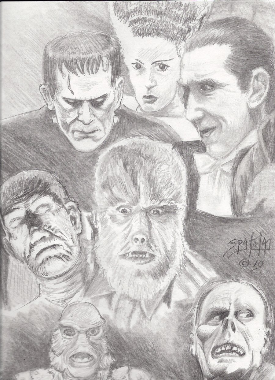 Classic Movie Creeps And Horror Movies on Grande Macabre 900x1242