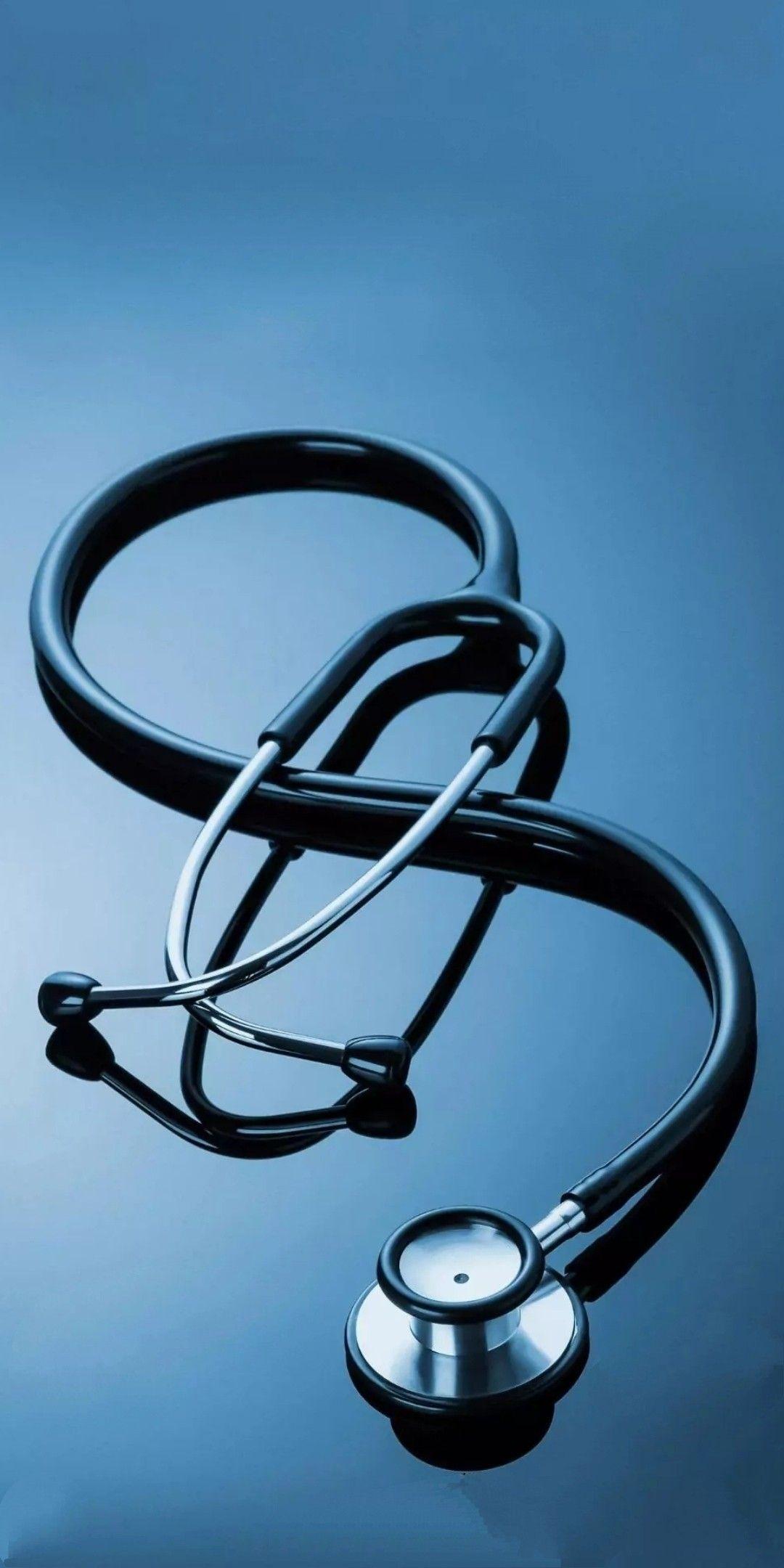Stethoscope wallpaper for doctors Medical school inspiration 1080x2160