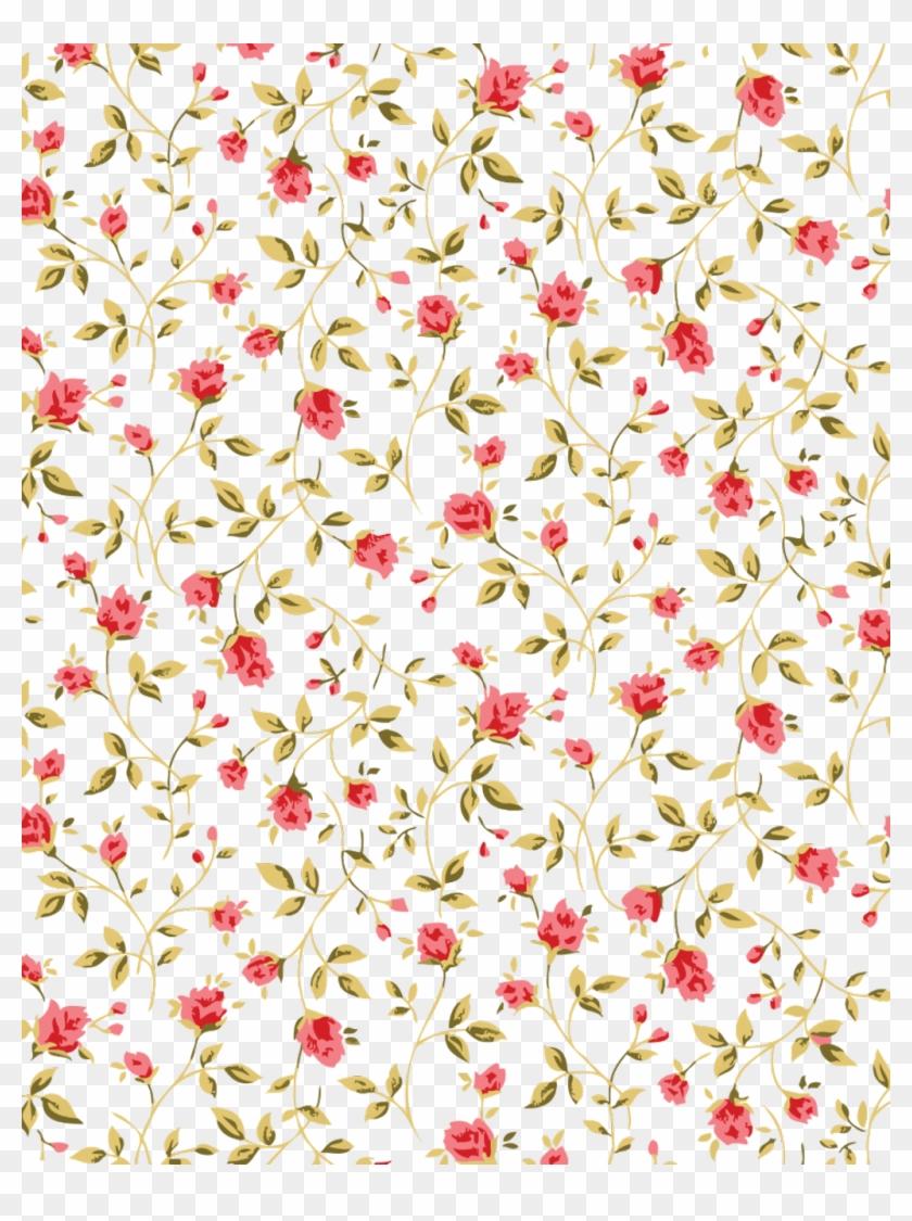 Transparent Flower Pattern   Rosa Patron Flowers Background 840x1125