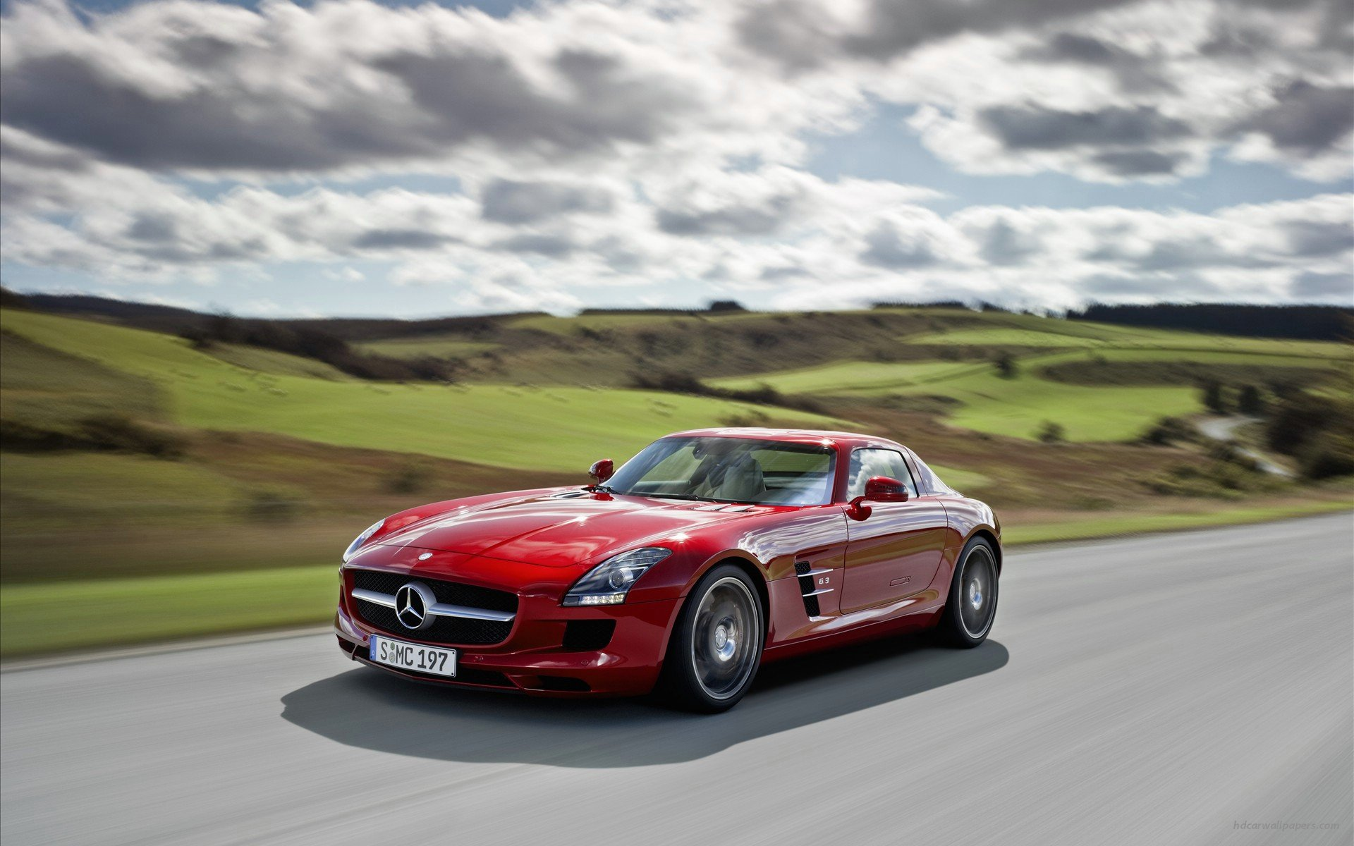 2011 Mercedes Benz SLS Wallpapers HD Wallpapers 1920x1200
