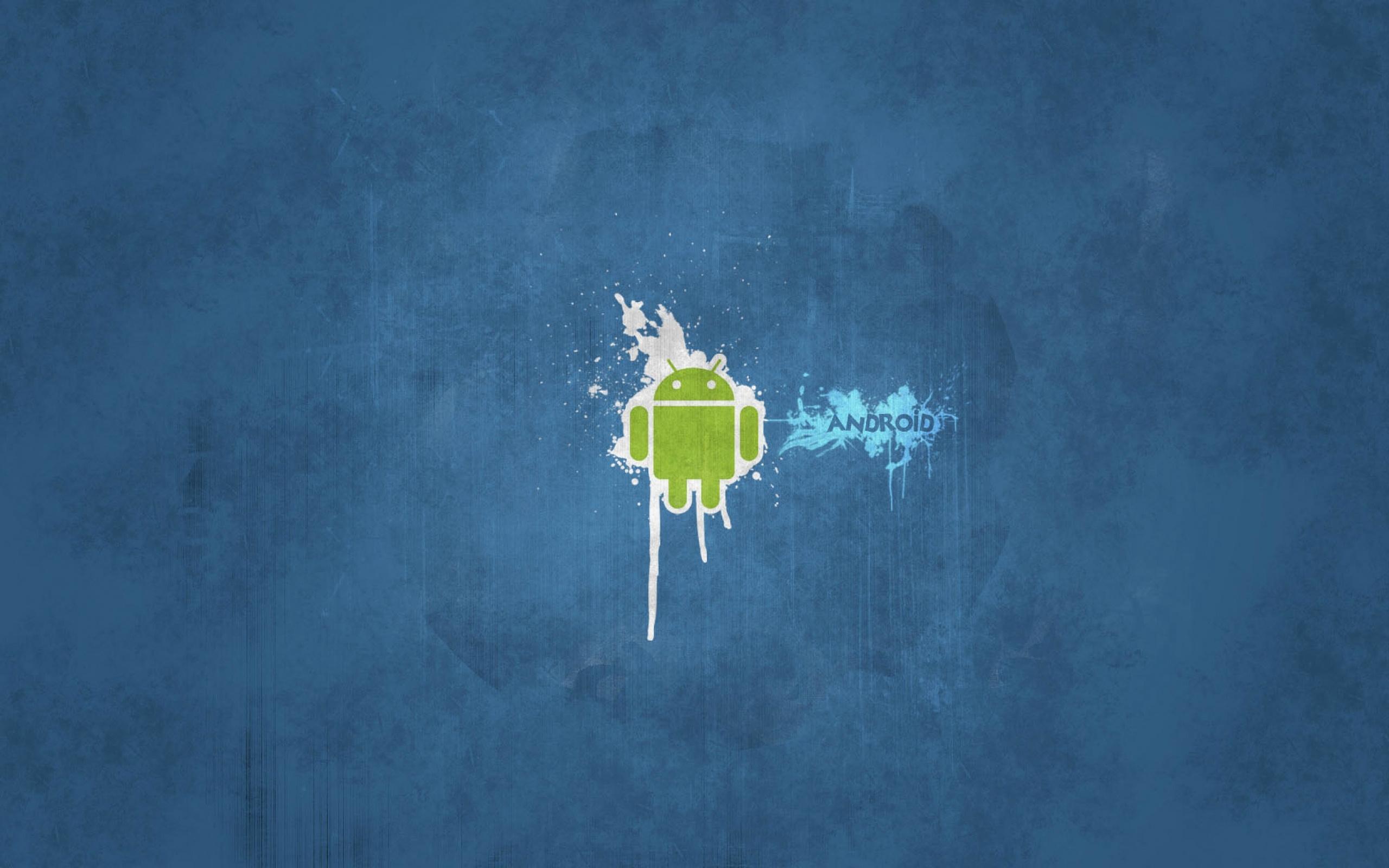 75 Android Blue Wallpaper On Wallpapersafari