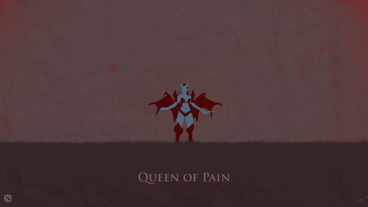 Queen of Pain Dota 2 Wallpaper by css101 1191x670