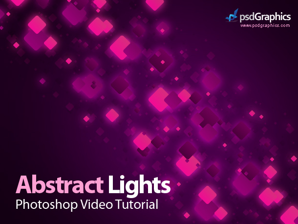 Abstract rainbow colors Photoshop video tutorial HD PSDGraphics 610x458
