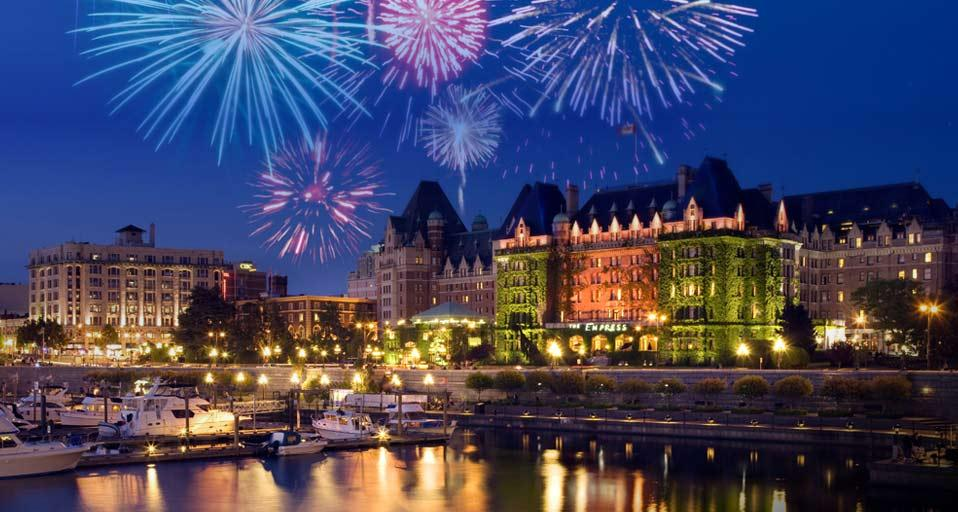 Fireworks over Inner Harbour Victoria British Columbia Russell 958x512