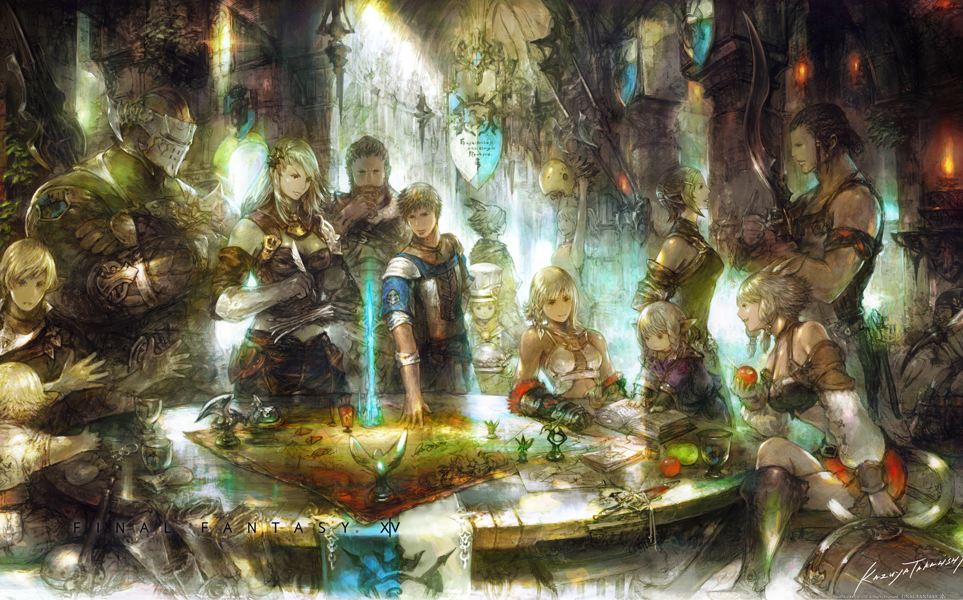 Free Download Final Fantasy Xiv Wallpapers 1924x1200 For Your